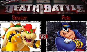 Bowser vs Pete by SonicPal