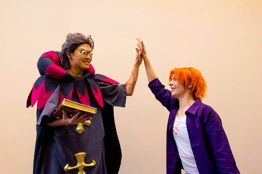 Fate/Zero - The Coolest High Five by Solo-The-Loner