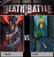 Guts Vs Link by newsuperdannyzx
