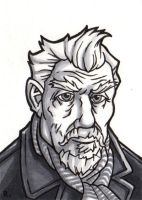 The War Doctor Sketchcard by TheRigger