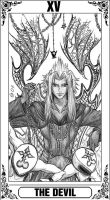 KH Tarot: The Devil by Autumn-Sacura