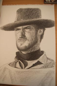 Eastwood - Drawing in progress by zebmx
