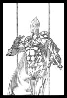 Doctor Fate Pencils by MBDavenport