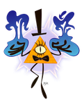 Bill Cipher by Themrock