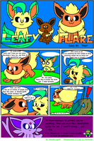 Leafy and Flare Comic: Pilot by RiuAuraeon