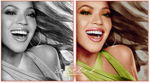 beyonce colorize by baboesch