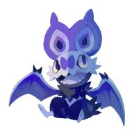 Noibat by bluekomadori