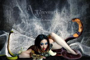 Snake woman by annemaria48