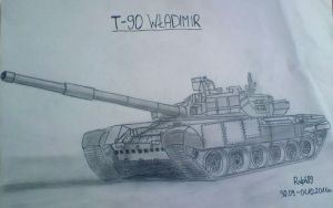 T-90 by Ralph1989
