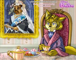Dorian and the Queen Victoria by vanessasan