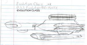 Evolution Class Paper Drawing by kaisernathan1701