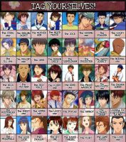 Prince of Tennis TAG sheet by krm3dayana