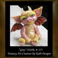 Giny Fantasy Little Creature by KabiDesigns