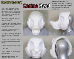 Canine Head Base by lemonbrat