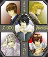 10k PageViews -Thank You- by Luvelia