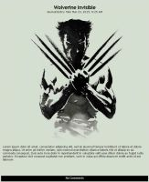 Wolverine Invisible Skin by MrOrbital