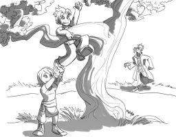 KH: BBS - Tree-Climbing by LynxGriffin