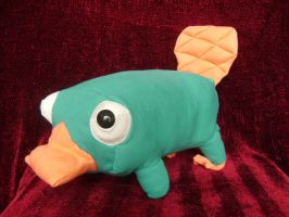 Perry, the platypus by NataliaVulpes