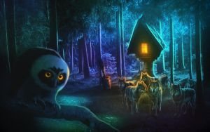 Swamp House by MariLucia