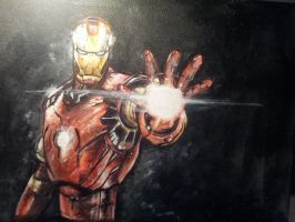 Ironman painting by RomyvdHel
