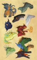 Page o Dragons by Vamtaro