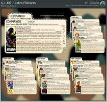 GI Joe and Cobra Filecards by Oulixeus