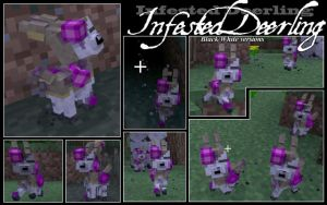 Minecraft Infested Deerling Mob by FuzzyAcornIndustries