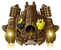 BH2: Hovertank Boss by KupoGames