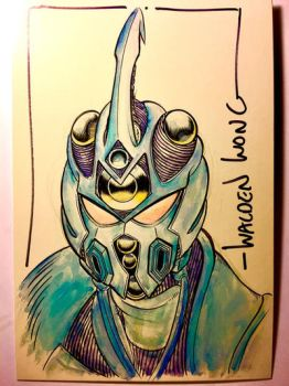 Guyver commission  by WaldenWong
