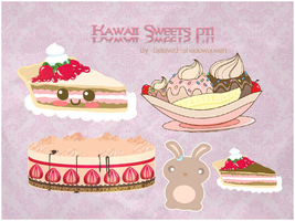 Kawaii Sweets png by Beloved-shadowqueen