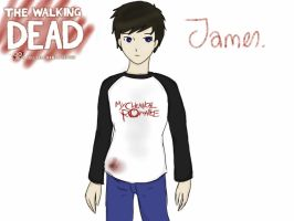 TWDG OC James *W.I.P* by StuffAndThiings