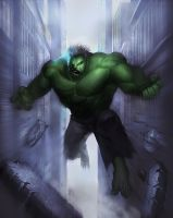Hulk by davebrush