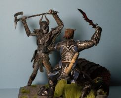 Skyrim diorama photo 2 by MichaelEastwood
