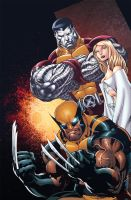 X-men by Eddy-Swan-Colors
