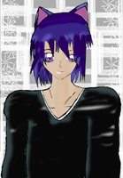 Ikuto ver. in my drawing style by SweetAyu