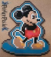 Mickey Mouse From Castle of Illusion by PerlerPixie