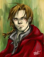 Edward Elric by choirfolk