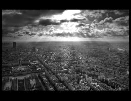 Paris with a city view by photodan88