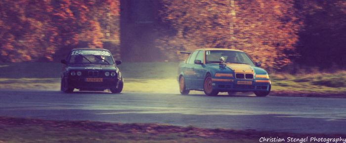 BMW twin drift at Airport Weeze by christiAnpure