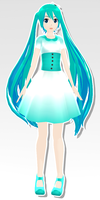 MMD - Dress zeze miku by SuminoChan