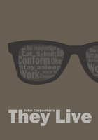 They Live minimalist poster by AshtonPerson