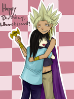 Birthday Hug by TheMangaWitch