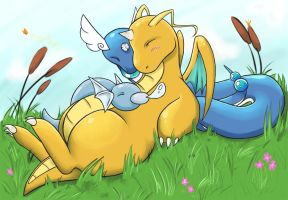 Dratini and Company by deft-hands