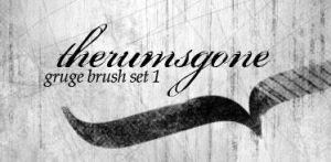 Grunge Brushes- Set 1 by therumsgone