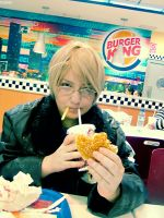 The Burger King. by KoiCos