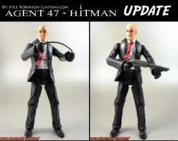 custom hitman Agent 47 UPDATE by KyleRobinsonCustoms