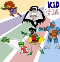 KID TITANS-GO by 1amm1