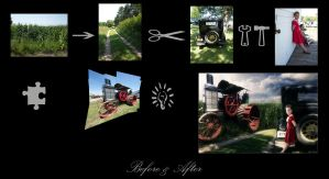 Before and After Pioneer Days by rsiphotography