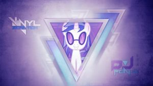 Vinyl Scratch / DJ Pon-3 (Wallpaper) by Prollgurke