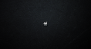 Apple Metal Stitched Leather by monkeymagico